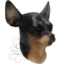 Latex Chihuahua Dog Mask